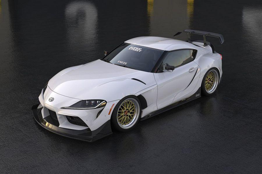 兇惡的寬體Toyota Supra準備於今年的SEMA展登場