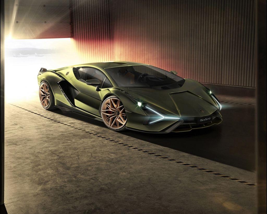 史上最強量產蠻牛 Lamborghini Sián !!