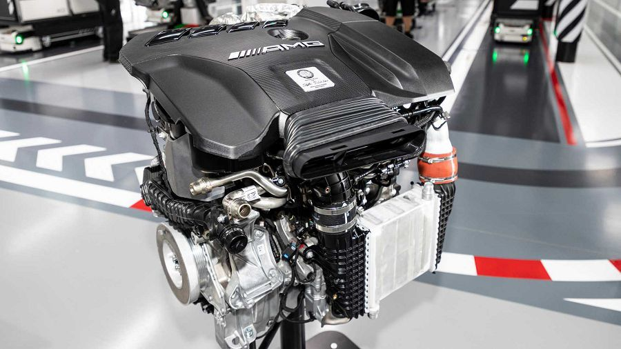 Mercedes-AMG A45的421HP引擎可能會給更大的車款使用?