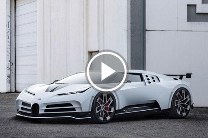 稀有超跑 - Bugatti Centodieci    百年紀念版