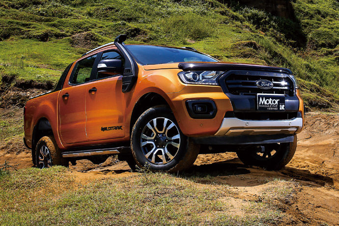 探索嶄新道路    Ford Ranger Wildtrak旗艦型