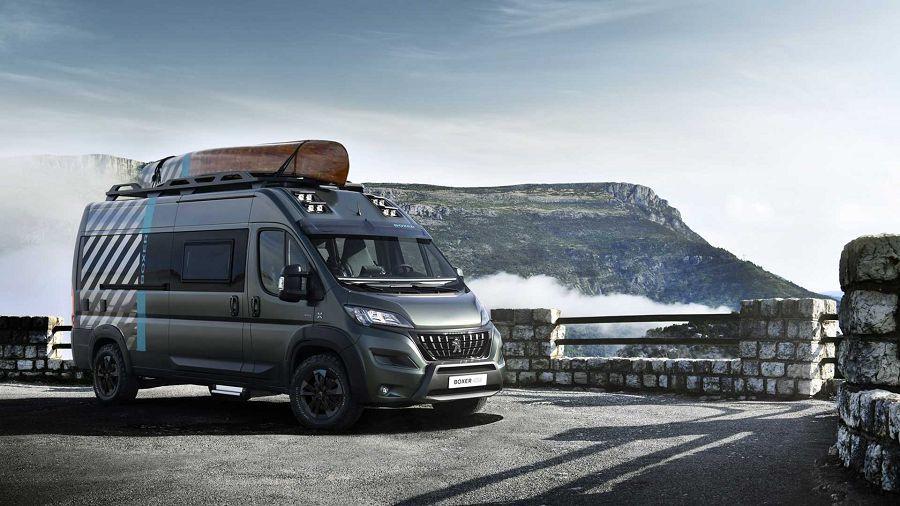 想要一輛花俏的露營探險車?Peugeot Boxer 4×4 Concept就是了