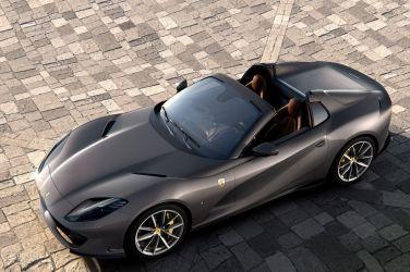 最強V12敞篷  Ferrari 812 GTS !