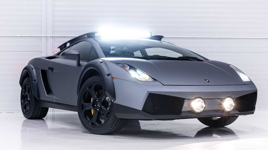 Lamborghini Gallardo若參加了拉力賽事,大概就是這個樣子