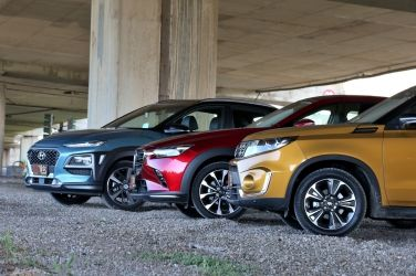 終局之戰  Suzuki Vitara vs. Hyundai Kona vs. Mazda CX-3(中) !