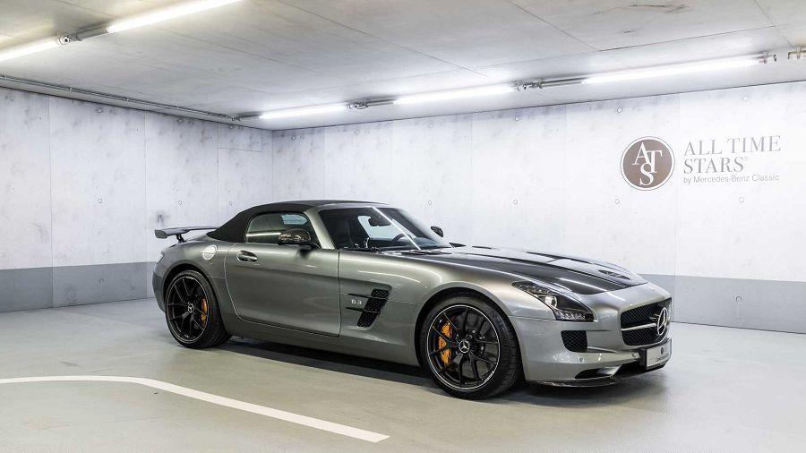 Mercedes正在銷售稀有的「SL Miglia Edition」和「SLS AMG GT Final Edition」