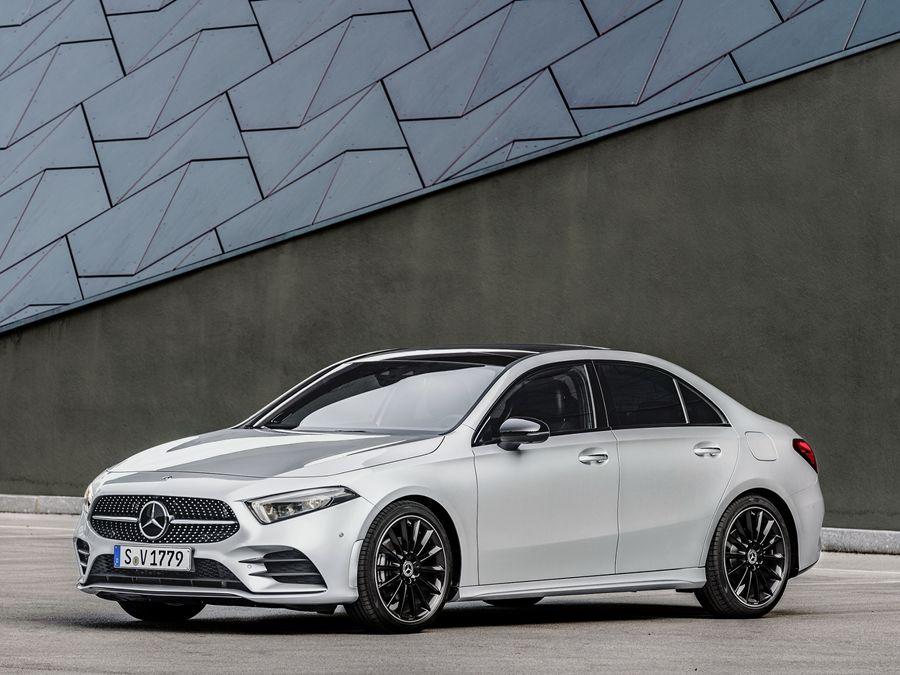 小車新軍!賓士A-Class Sedan 新世代轎車登場