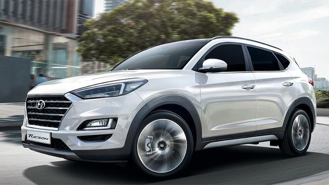 2019年10月 Hyundai 現代全車系中古車行情表