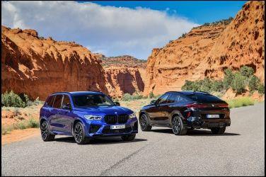重辣推出 BMW X5 M / X6 M