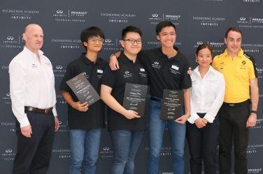 台灣選手勇奪2019「INFINITI賽車工程學院」 亞洲及大洋洲區總決賽冠軍