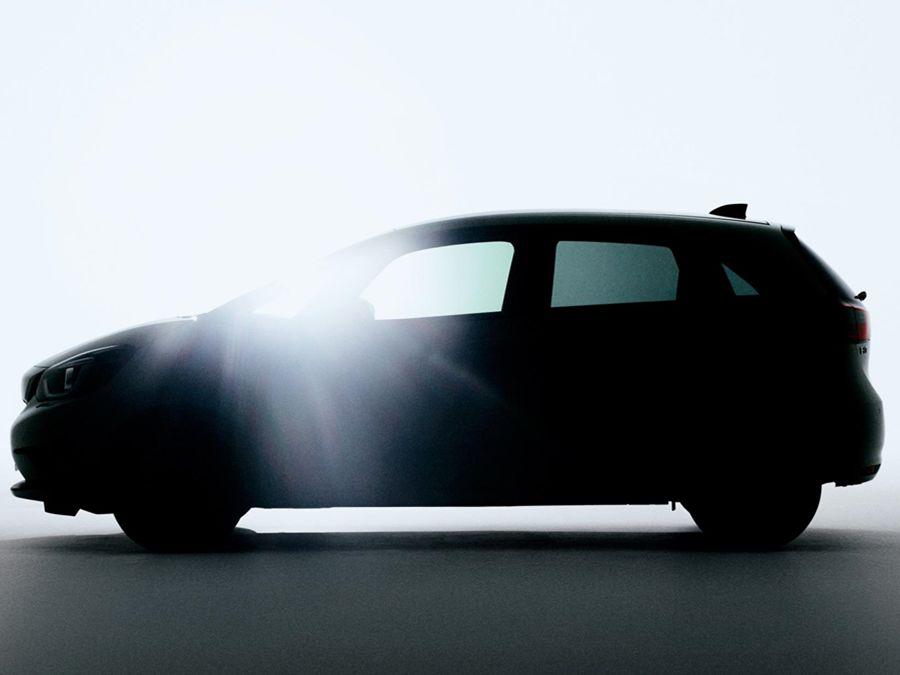 大家期待新一代Honda Fit嗎?Honda提前曝光車側照!