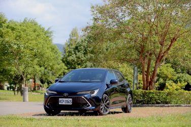 務實美掀背  2020 Toyota Auris