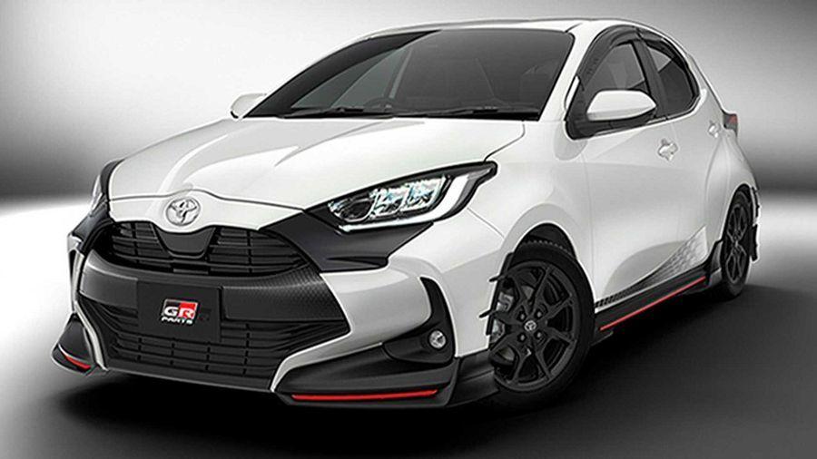 還沒落地就要改!TRD和Modellista替新的Toyota Yaris推出車體套件