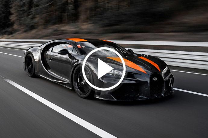 稀有超跑 - Bugatti Chiron Super Sport 300+    再戰極速領域