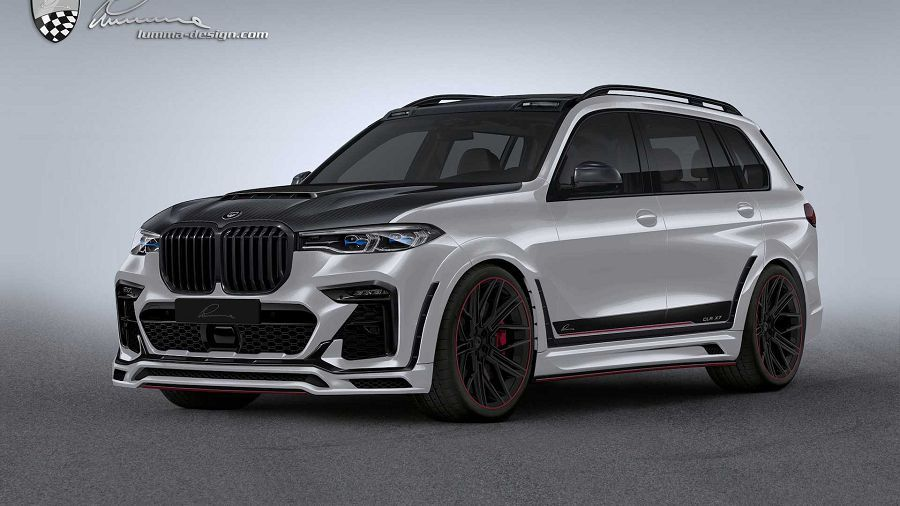 Lumma Design讓BMW X7變成不好招惹的車款了