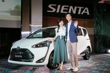 桌球夫妻幸福代言  Toyota Sienta改款上市 !!