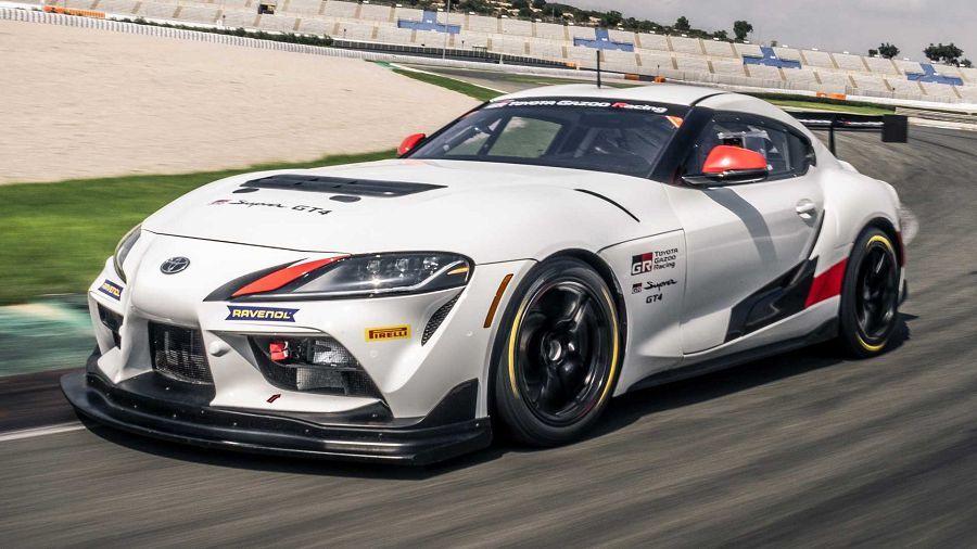429HP!Toyota發表競技規格的「GR Supra GT4」賽車