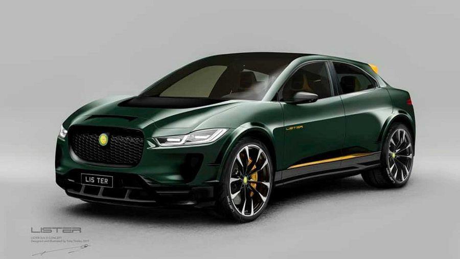 Jaguar I-Pace透過Lister之手變身成火辣的電動休旅車