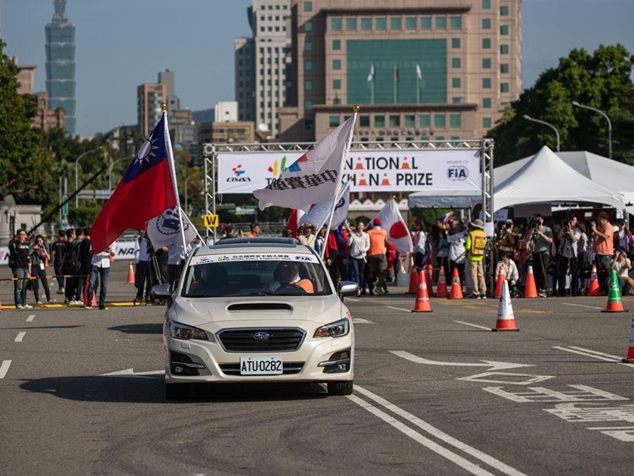 TIGP台北國際金卡納大獎賽開幕 嘉賓Janet為選手們加油