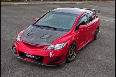 這個比Type-R還要屌啊!!  J'S Racing Mugen RR就這樣大改下去 !