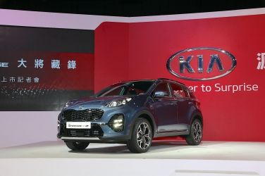 ADAS全車系標配  Kia Sportage Facelift