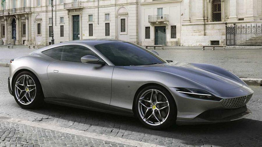 Ferrari Roma發表!融合復古外觀與612HP的動力