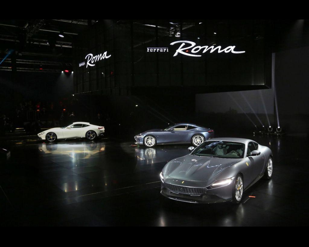 絕美壓軸 Ferrari Roma !