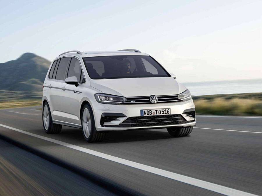 2020年式VW Touran全車系標配IQ.DRIVE智能駕駛輔助系統