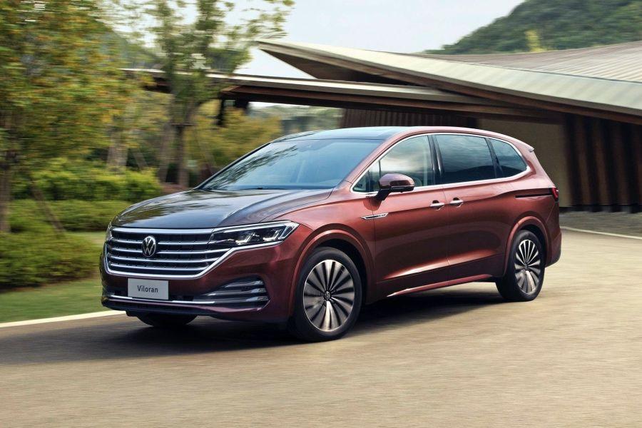 中國獨享的VW Viloran大七人座MPV!挑戰Lexus LM