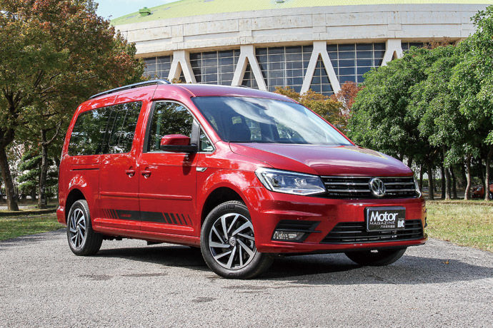 Volkswagen Commercial Vehicles    Caddy Maxi 2.0 TDI Home Run傳奇版