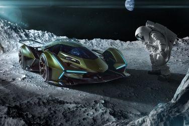此車只應電玩有  Lamborghini V12 Vision Gran Turismo !!
