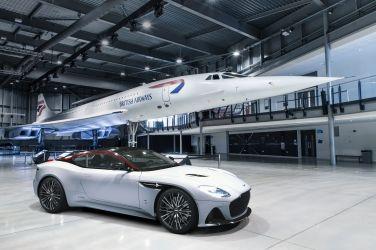 向協和號致敬  Aston Martin DBS Superleggera Concorde Special Edition !!