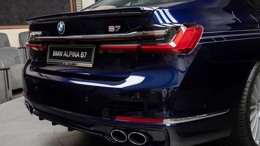 外冷內熱 配色活潑的2020 Alpina B7 Findcar 找車網