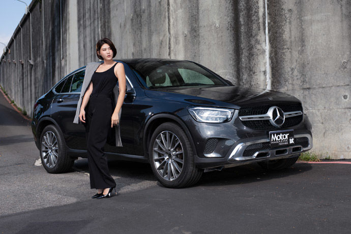 Motor Babe - Mercedes-Benz GLC 300 4Matic Coupe    美型轎跑休旅