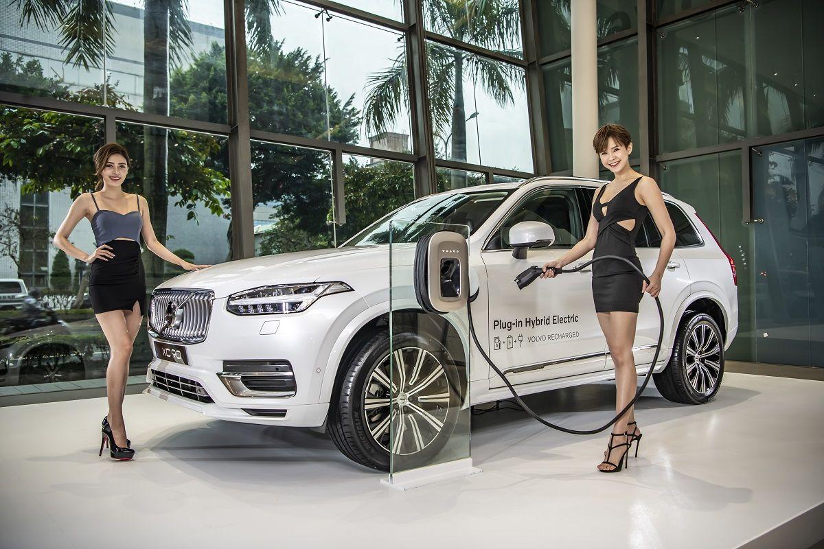 2020 世界新車大展volvo Xc90 全新小改款攜手凱渥名模詮釋北歐