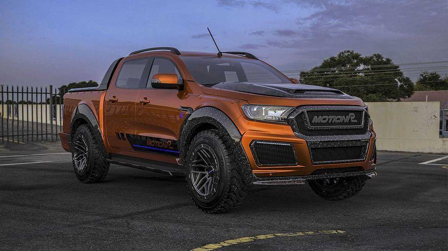 碳纖維加持後,Ford Ranger看起來硬派多了