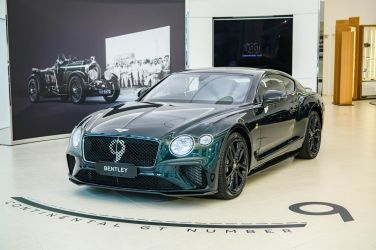 賽車經典指標  Bentley Continental GT Number 9 Edition by Mulliner !!