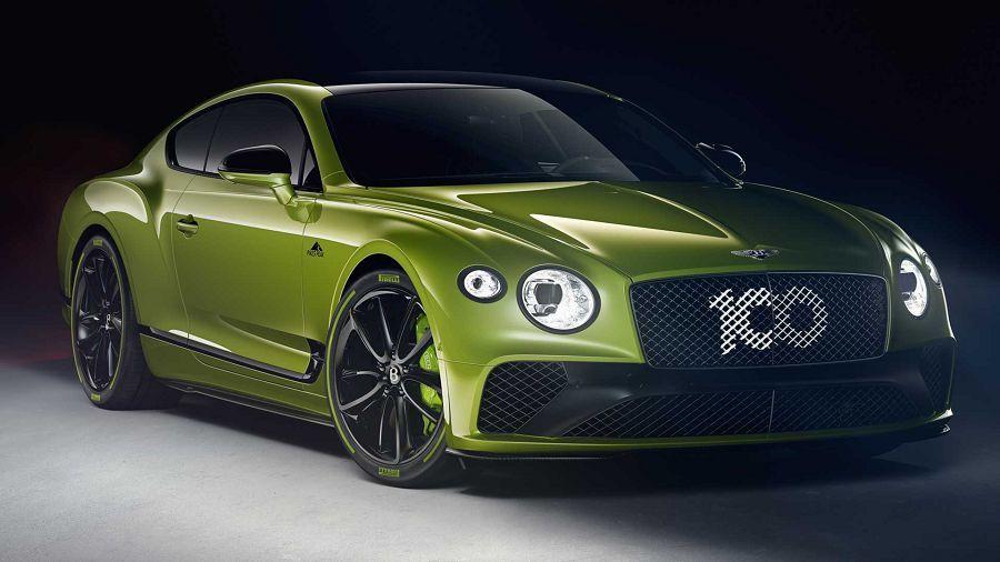 Bentley推出特別版Continental GT來慶祝在Pikes Peak創下的新紀錄