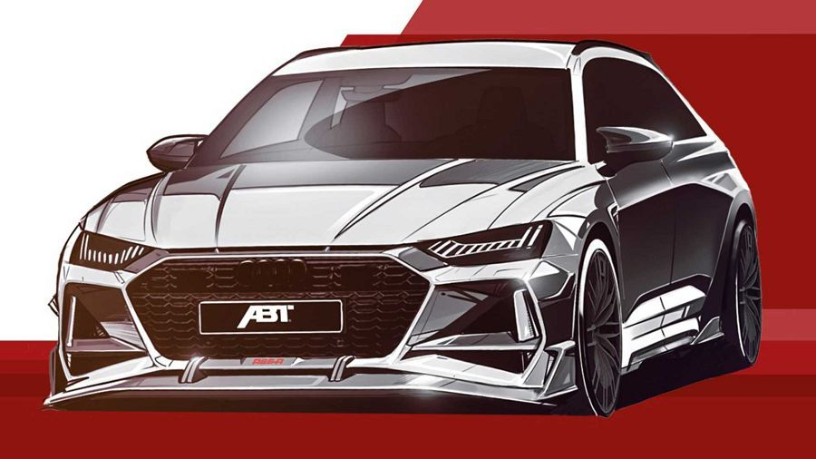 超兇旅行車─ABT釋出新的RS6-R預覽照