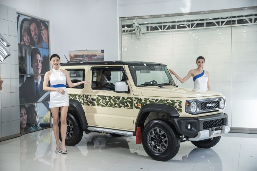 SUZUKI台北車展 「Jimny特仕車」搶先亮相!