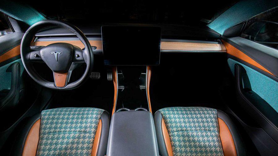 Tesla Model 3車主看過來,Vilner示範引人入勝的內裝設計樣式
