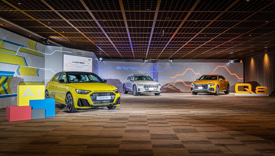 2020台北車展重頭戲 Audi豪華跑旅Q8、e-Tron重裝登場!
