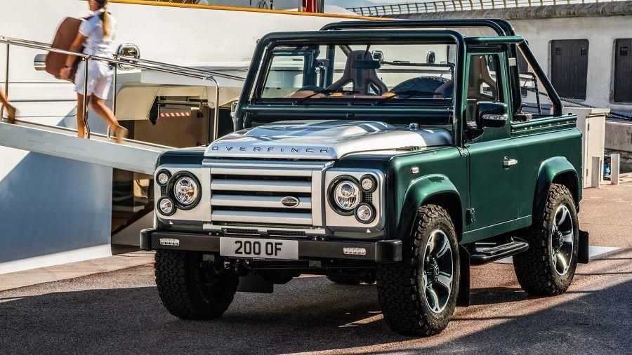 Overfinch所推出的Land Rover Defender漂亮詮釋了「奢華x硬派越野」!