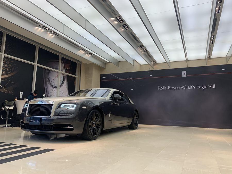 全球限量50輛 Rolls Royce Wraith Eagle VIII飛鷹八號現身台北!