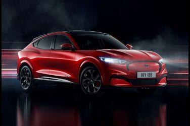 墊腳電動馬  Ford Mustang Mach-E !!