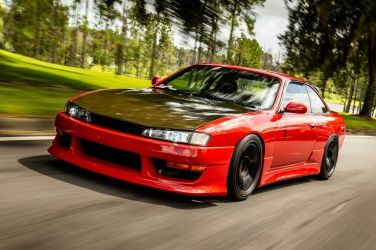 1995 Nissan  240SX 美麗的內外與車主 !