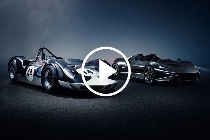 稀有超跑 - McLaren Elva    極輕上空悍騎