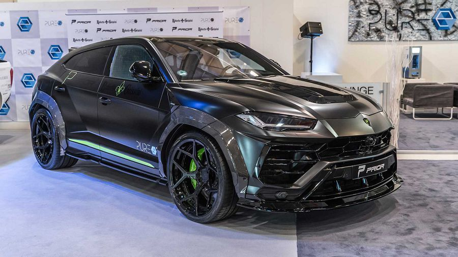 殺氣的極致─Prior Design改Lamborghini Urus