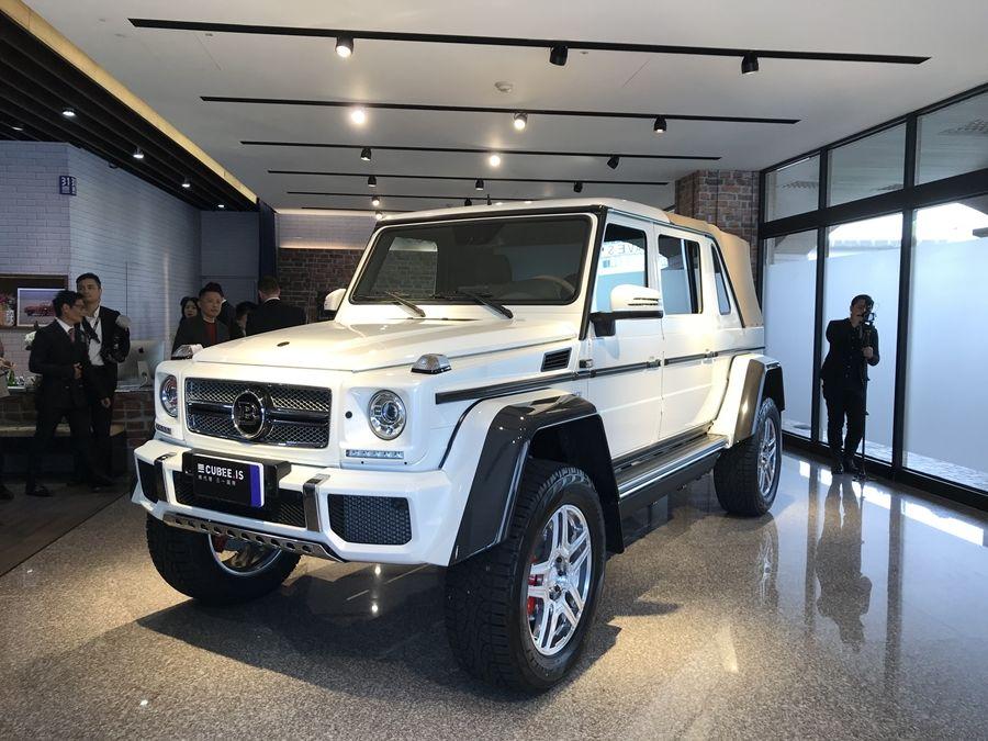 三一國際新年端出超重量級車款 展出兩款總值破億豪車!