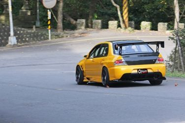 計程車哪有這麼帥的!?(下)  Mitsubishi Lancer EVO VII CT9A !